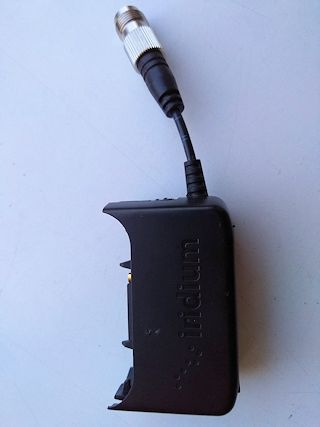 Iridium Extreme Antenna & Power Supply Adapter