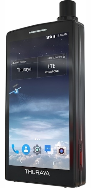 Фото Thuraya X5-Touch - вид справа