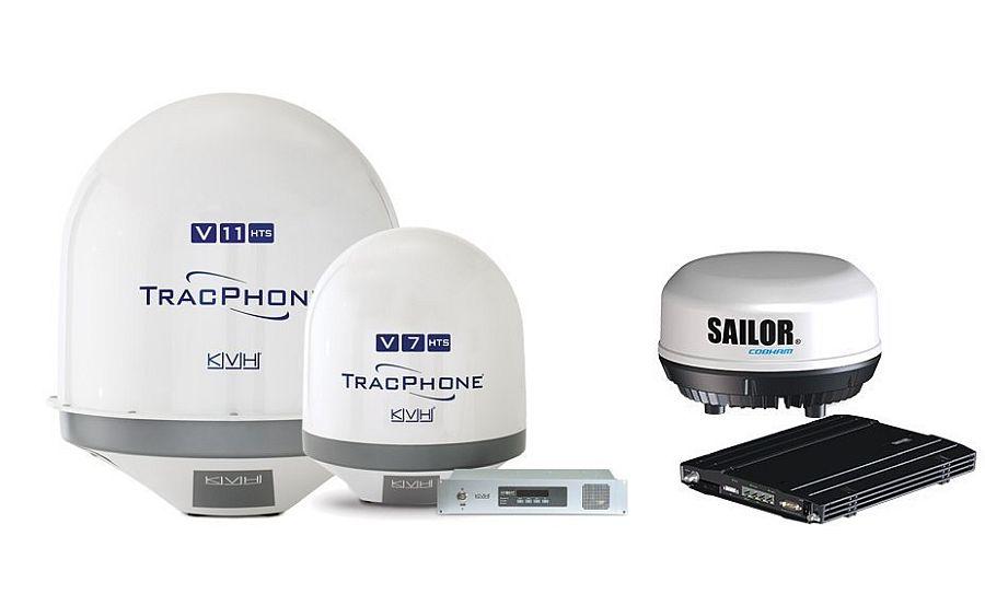 Спутниковая связь для яхты