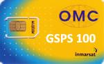 Карта пополнения баланса IsatPhone номиналом 100 единиц OMC
