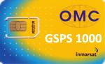 Карта пополнения баланса IsatPhone номиналом 1000 единиц OMC